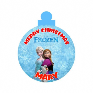 Frozen Acrylic Christmas Ornament Decoration
